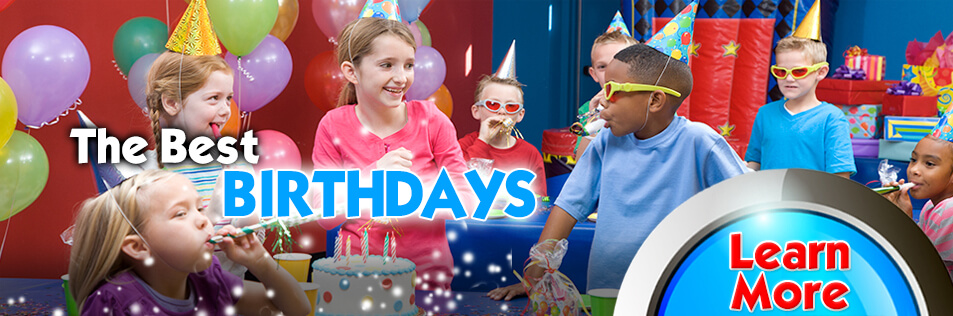 Find out about our GREAT Birthday Parties!