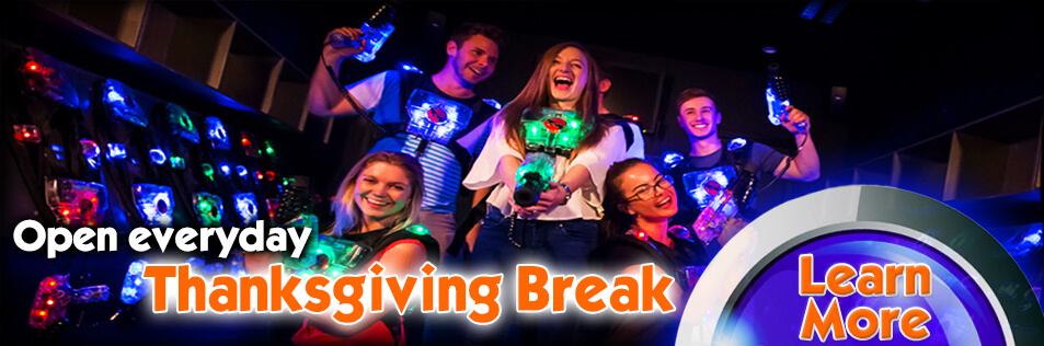 OPEN EVERYDAY during Cobb County's Thanksgiving Break!