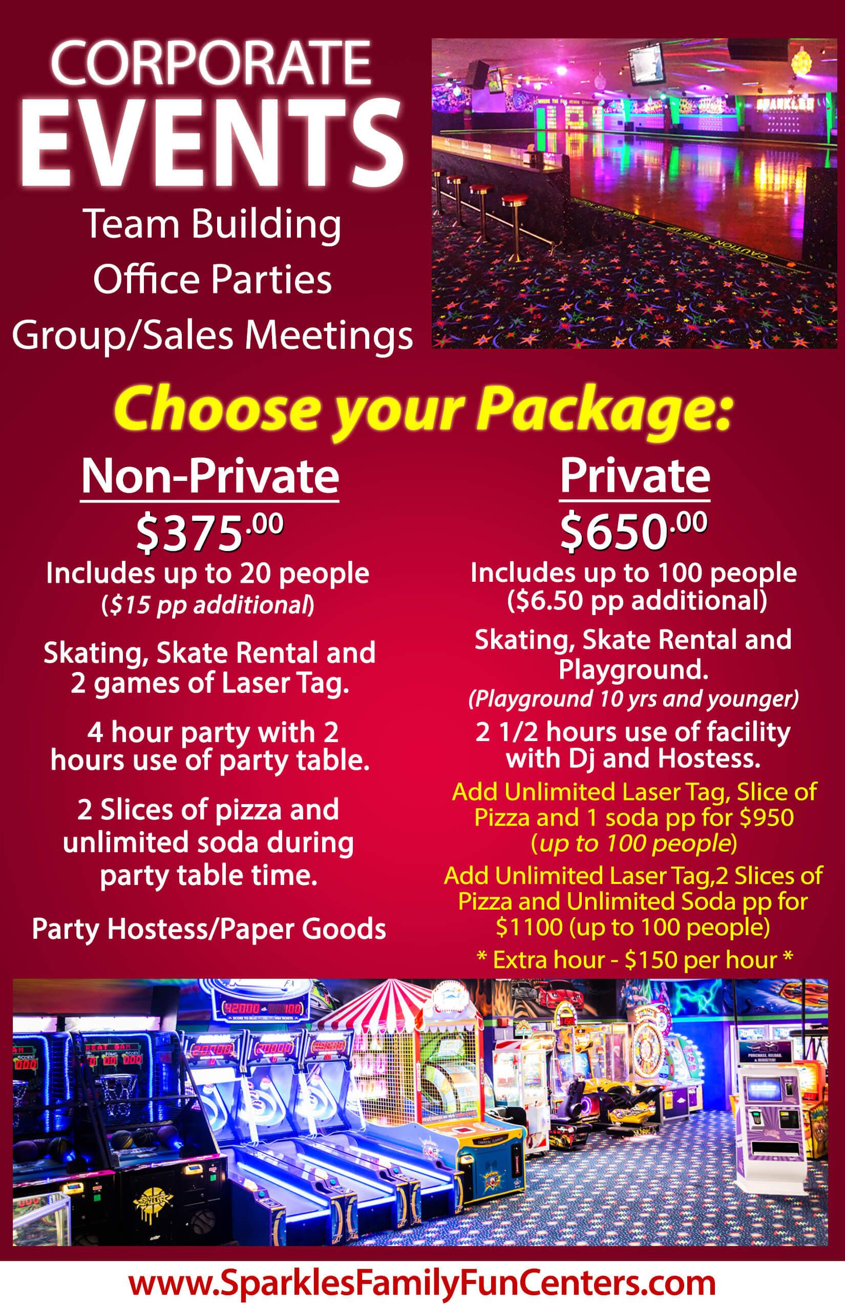 Atlanta Ga Corporate Events Venue Roller Skating Laser Tag