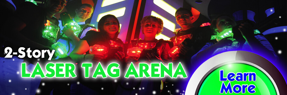 The BEST Laser Tag Experience right here in Kennesaw, Ga.