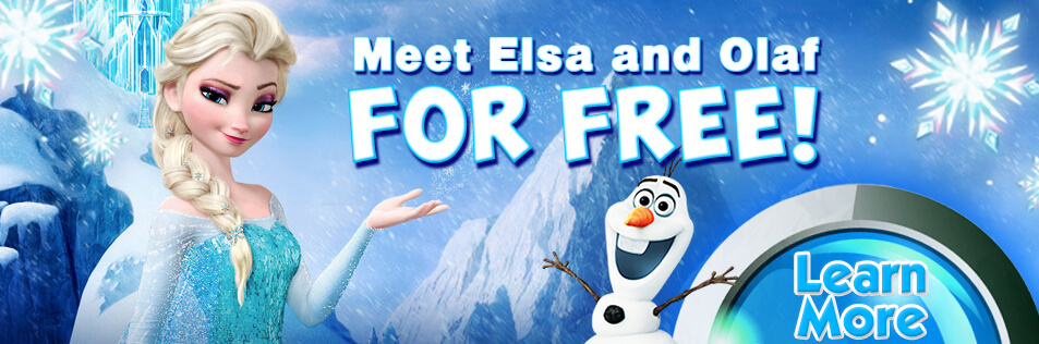 Customer Appreciation Skate with Elsa and Olaf at Sparkles!