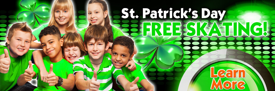 Free St. Patrick's Day Fun at Sparkles!