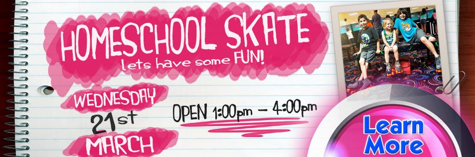Homeschool Skate at Sparkles of Kennesaw!