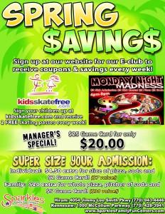Sping Savings 2016
