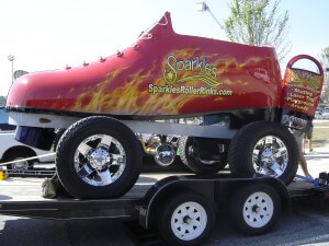 Sparkles skate car