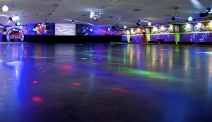 Skate and dance to the music with your date!