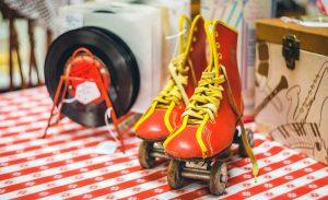 vintage roller-skates