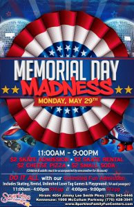 Memorial Day Madness